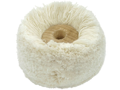 Wool Mop 2 Fine Thread Wooden Centre