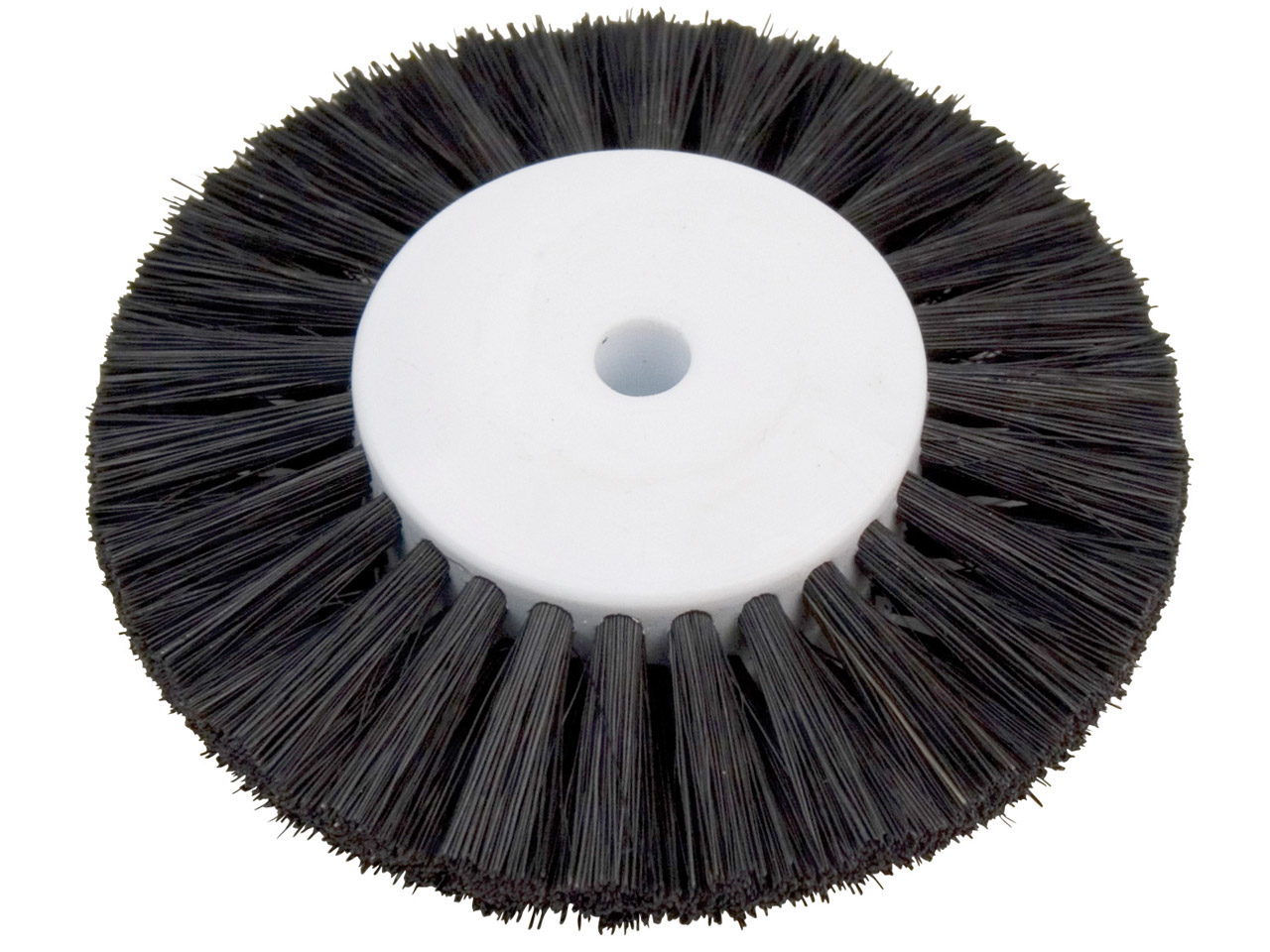 Black Bristle Lathe Brush 2.5