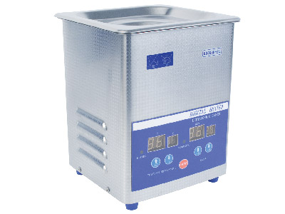 Ultrasonic 2 Litre Heated With Digital Timer Temperature Controlbasket  Lid