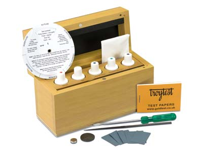 Troy Test Kit 5 Bottle Set       Un2031c Tnt