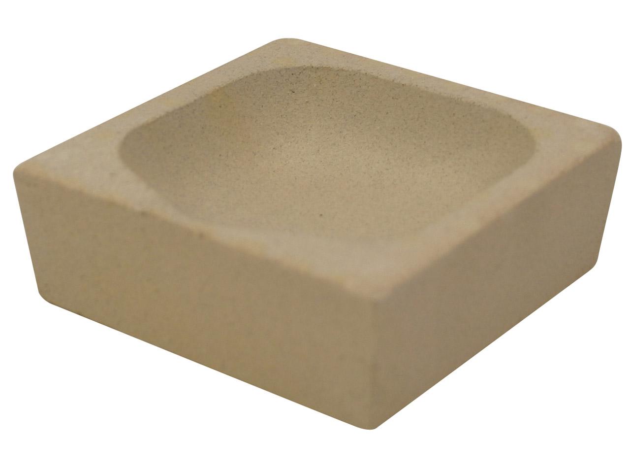 Cooksongold Square scorifiers pour soudure et fonte