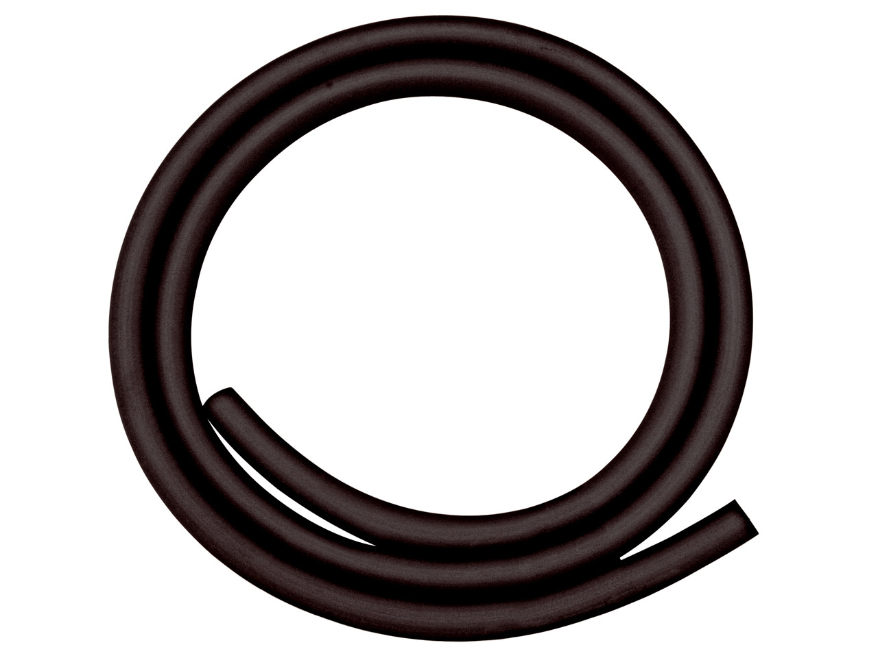 Black rubber tube 1 metre for mouth blown torch sold per for Diametre interieur per