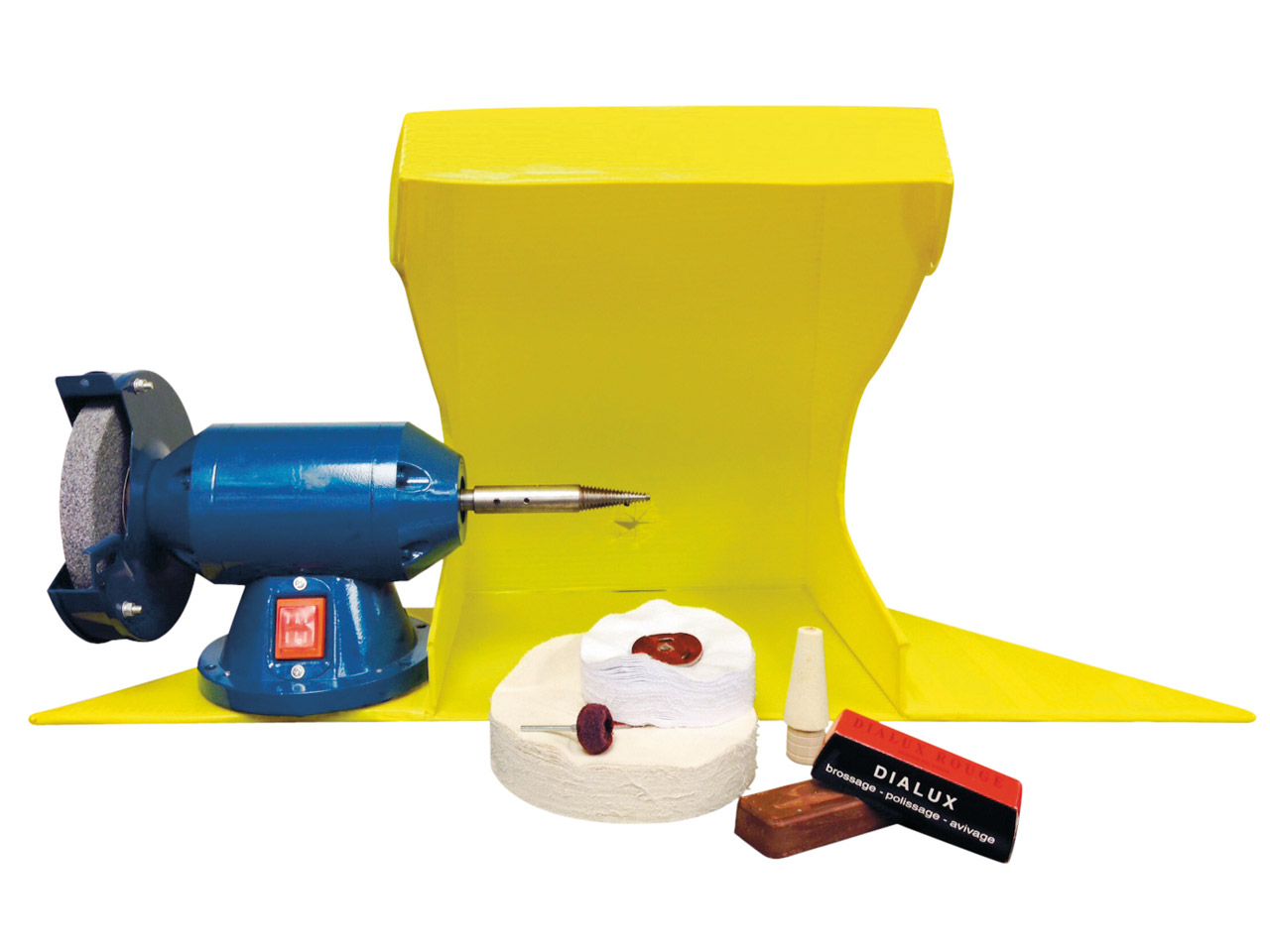 Complete Polishing Kit With Motor