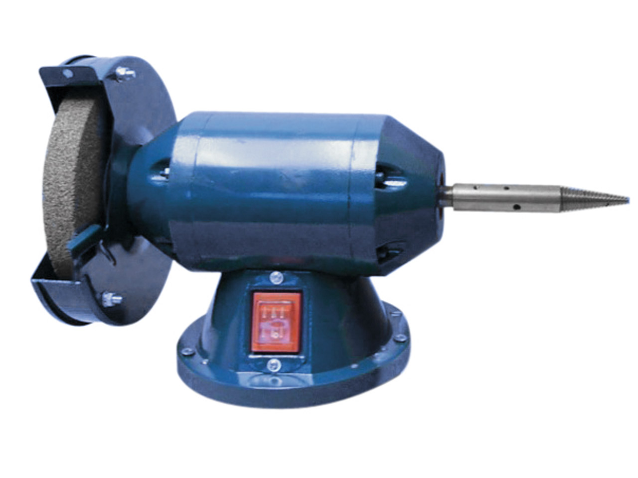 Economy bench grinder polisher 200 watt 150mm and spindle for Table grinder
