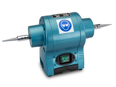 Milbro Polishing Motor 12hp,      Includes Spindles, 2800 Rpm