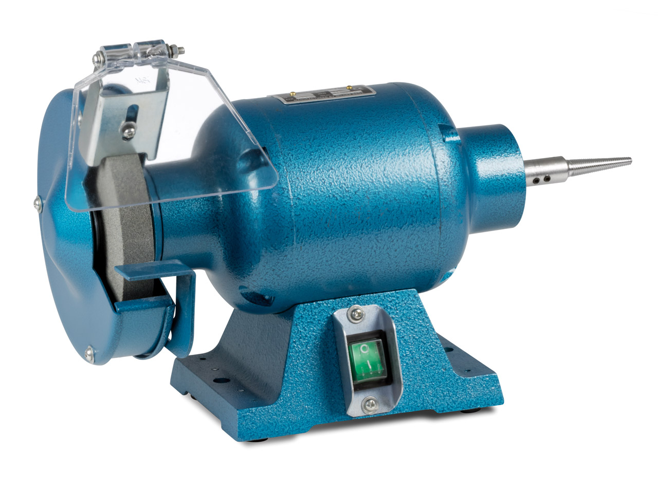 Milbro Polish/grinder Motor 1/2hp, Includes 1 Spindle And Grinding    Wheel