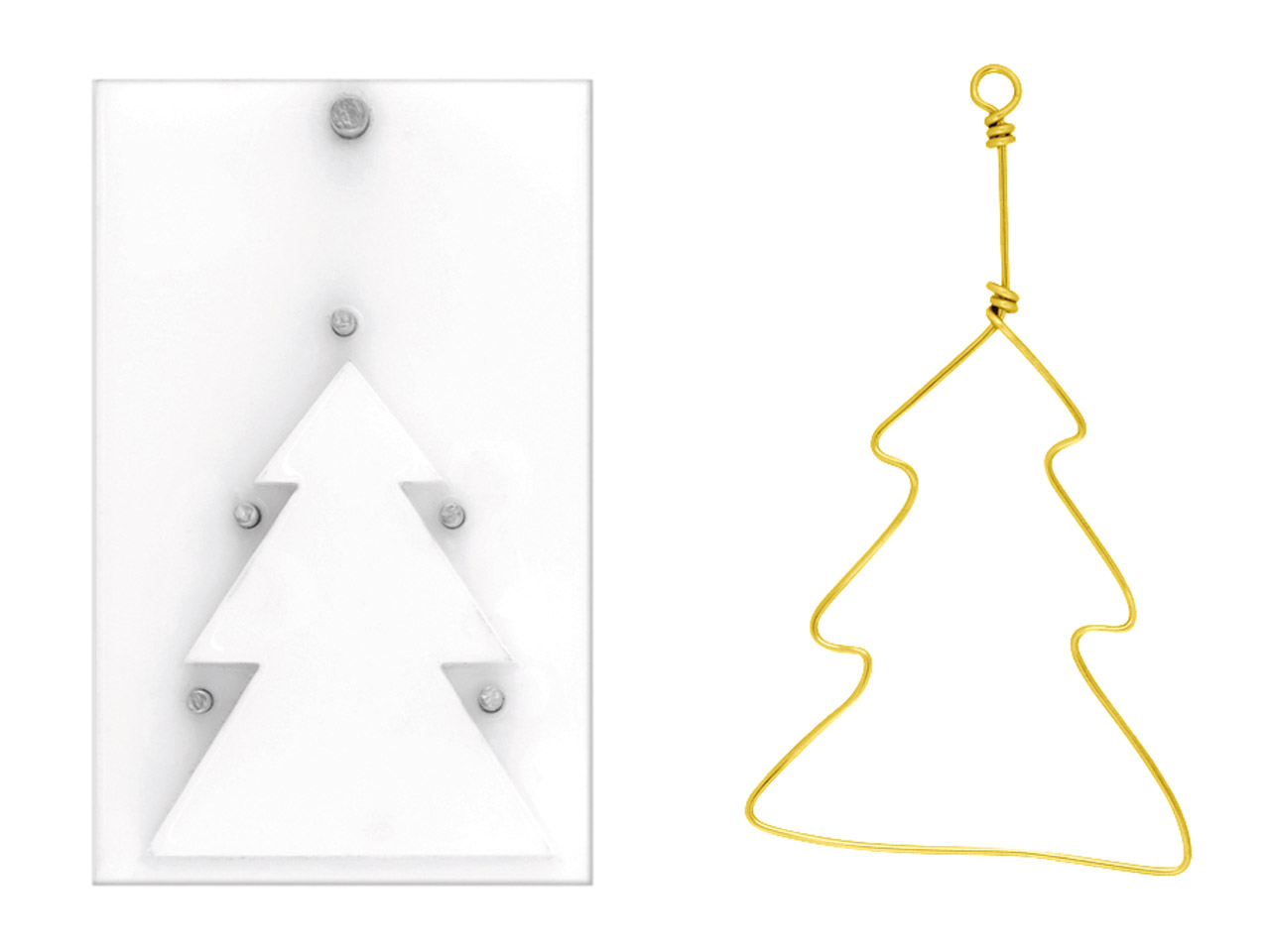 Beadalon Artistic Wire Findings    Forms Christmas Tree Jig