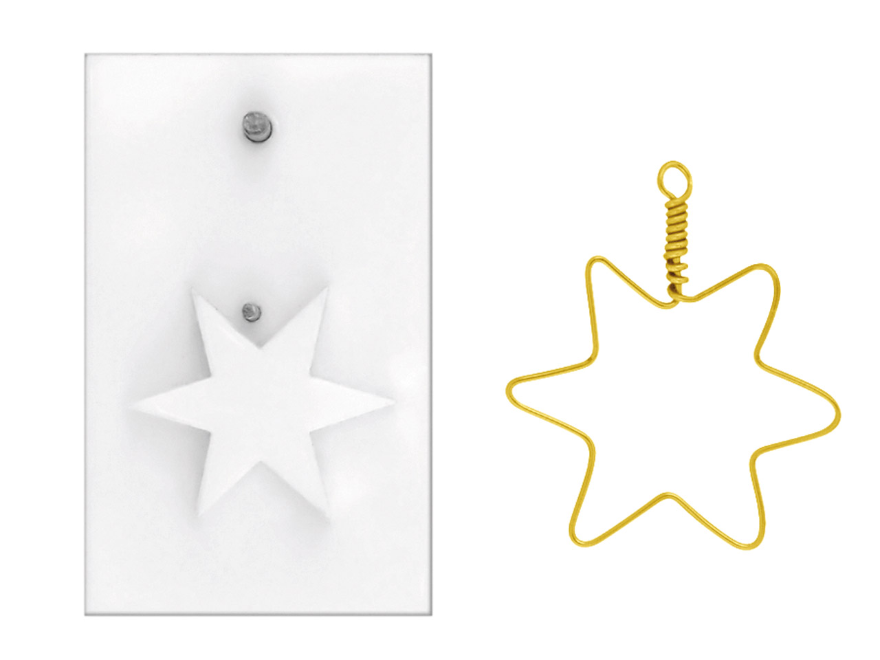 Beadalon Artistic Wire Findings    Forms Christmas Star Jig