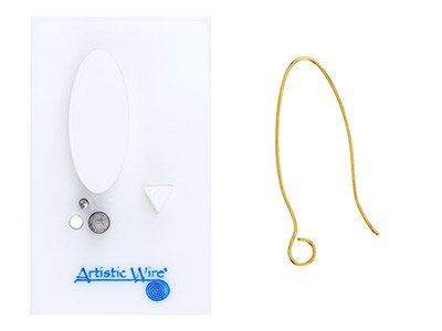 Beadalon Artistic Wire Findings    Forms Oval Ear Wire Jig