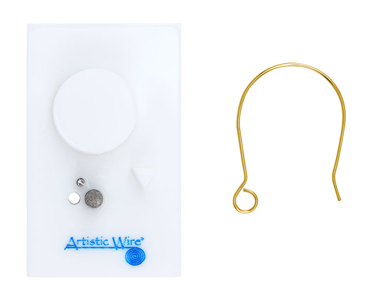 Beadalon Artistic Wire Findings    Forms Round Ear Wire Jig