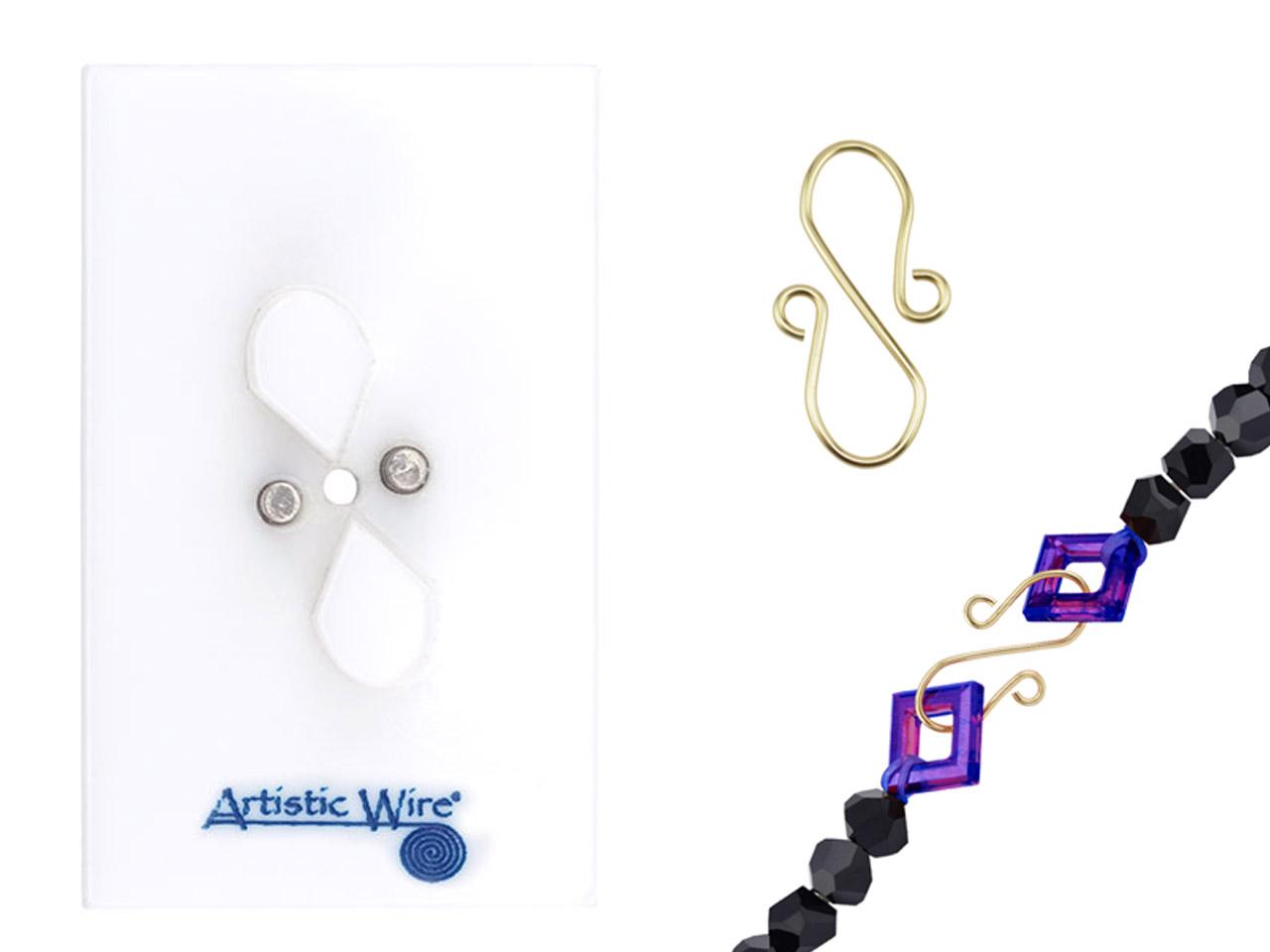 Beadalon Artistic Wire Findings    Forms S Hook Clasp Jig