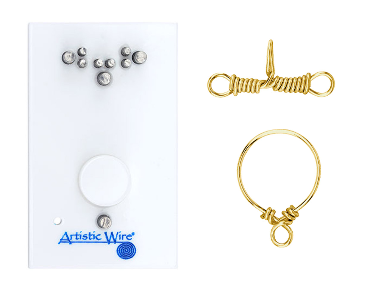 Beadalon Artistic Wire Findings    Forms Ring And Toggle Clasp Jig