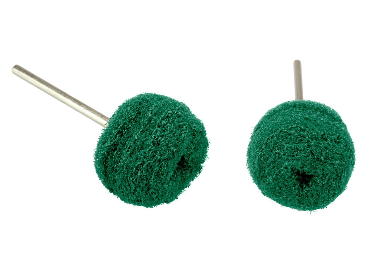Abrasive Nylon Buffing Balls Green - Medium 22mm