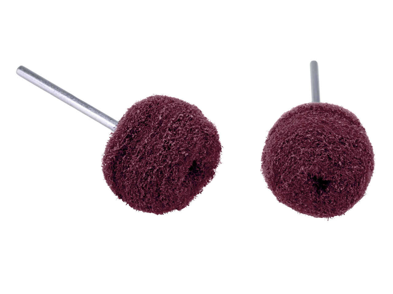 Abrasive Nylon Buffing Balls Red - Coarse 22mm