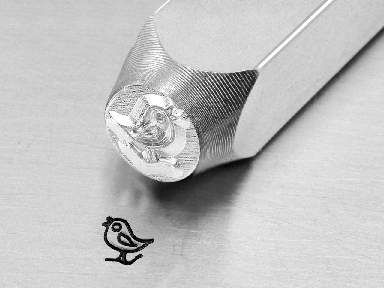 Impressart Song Bird Design Stamp  6mm