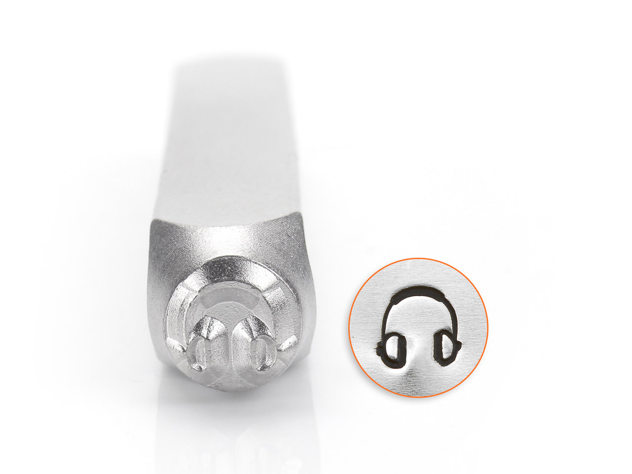 Impressart Headphones Design Stamp 6mm