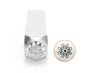 Impressart Floret Flower Design    Stamp 6mm