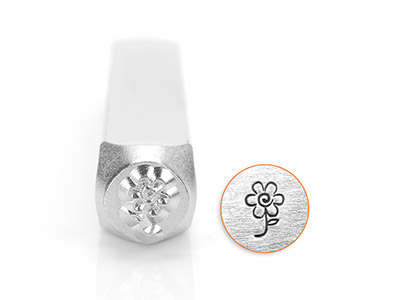 Impressart Spring Flower Design    Stamp 6mm