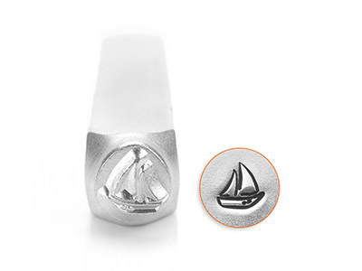Impressart Sailboat Design Stamp   6mm