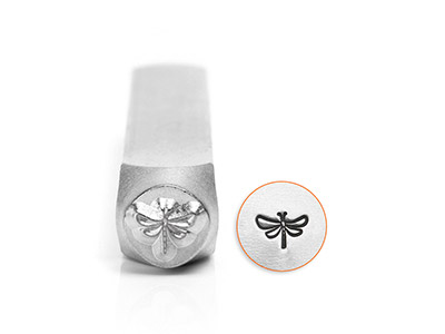 Impressart Dragonfly Design Stamp  6mm