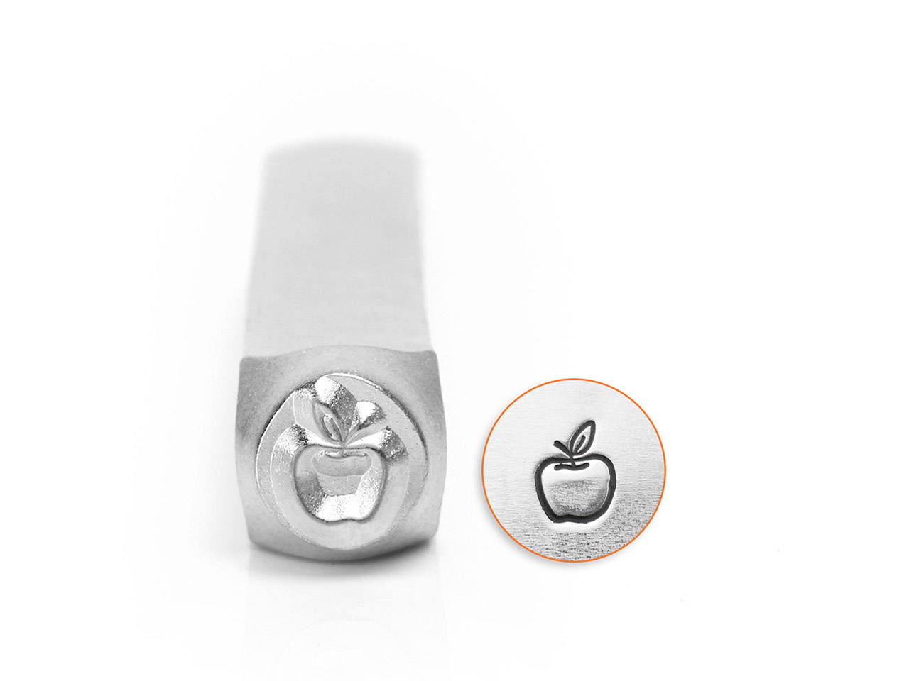Impressart Apple Design Stamp 6mm