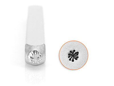 Impressart Small Dandelion Design  Stamp 3mm