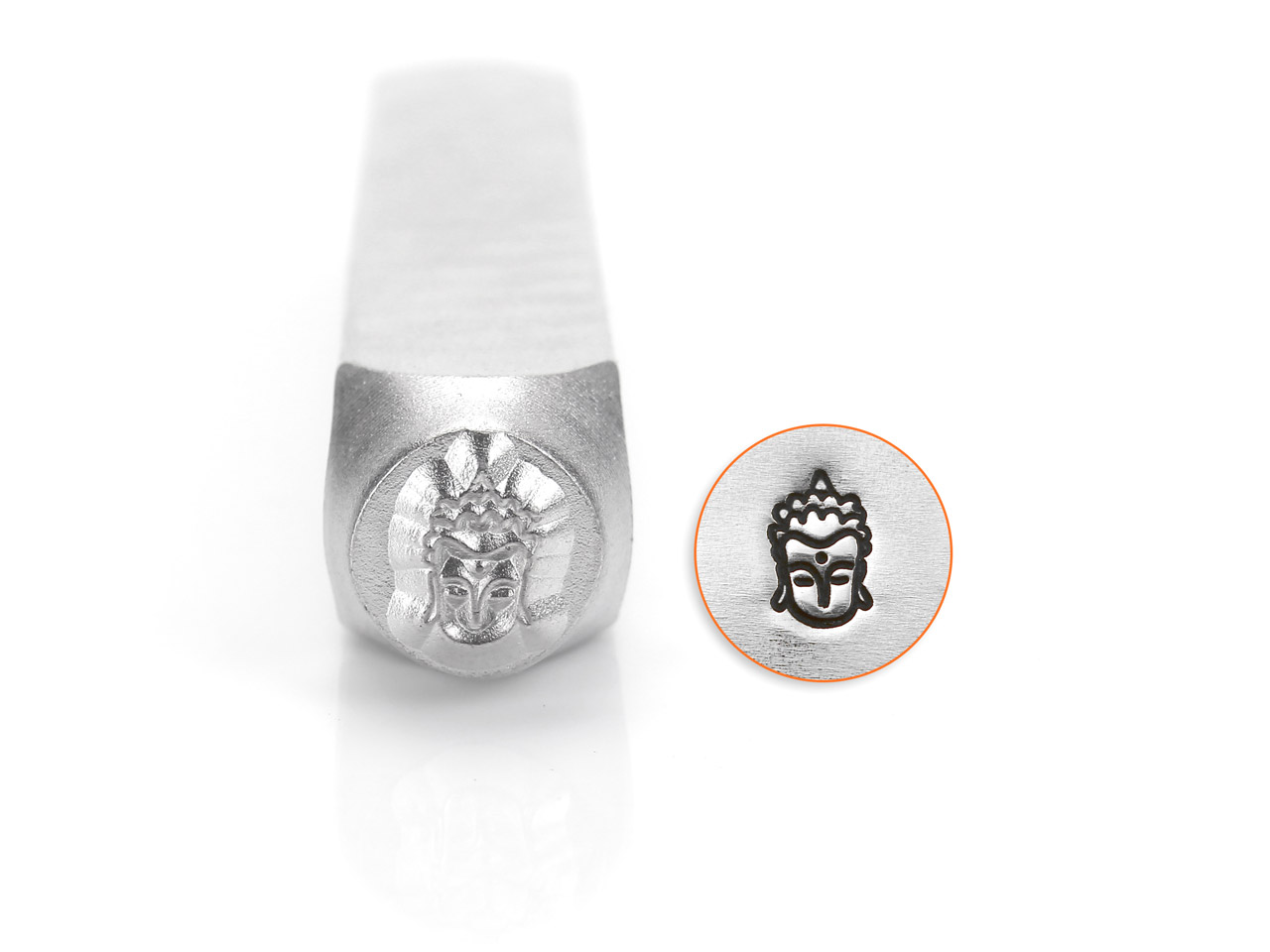 Impressart Buddha Design Stamp 6mm