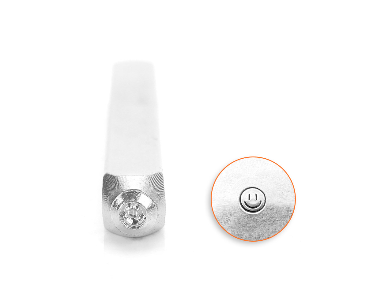 Impressart Smiley Face Design Stamp 3mm