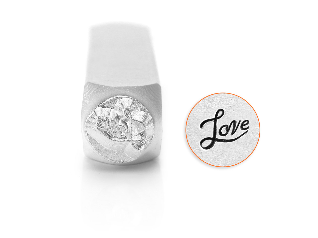 Impressart Love Design Stamp 6mm
