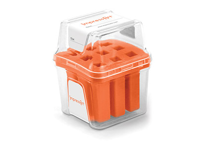 Impressart Number Stamp Storage    Case Orange 3mm