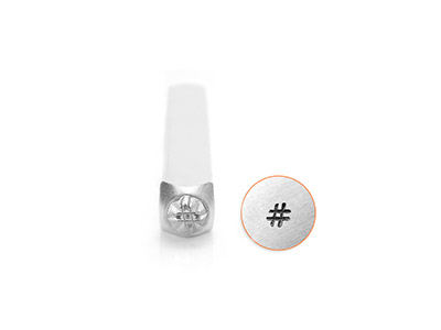 Impressart-Hashtag-Design-Stamp-3mm