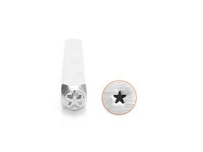 Impressart Solid Star Design Stamp 3mm