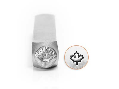 Impressart Maple Leaf Design Stamp 6mm