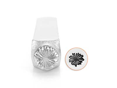 Impressart Daisy Large Design Stamp 9.5mm