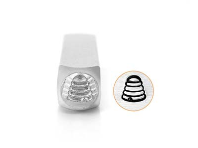 Impressart Beehive Design Stamp 6mm