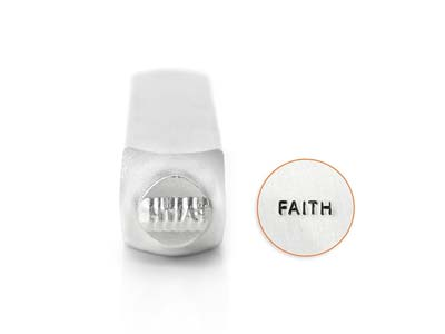 Impressart Faith Design Stamp 6mm