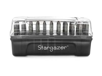 Impressart Signature Stargazer     Letter Stamp Set Uppercase 2mm