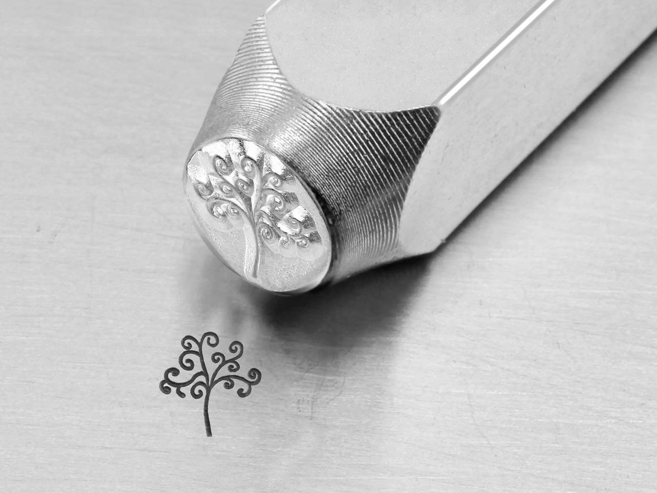 Impressart Tree Of Life Design     Stamp 6mm