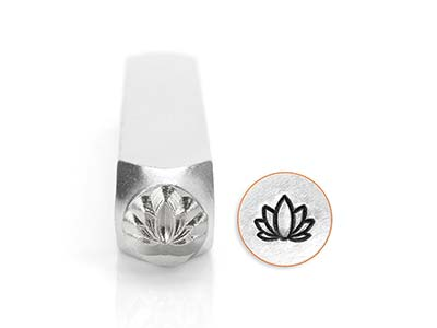 Impressart Lotus Design Stamp 6mm