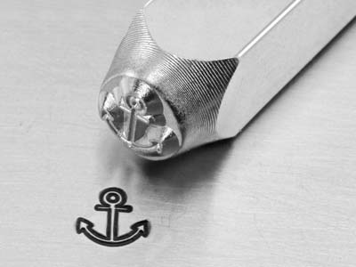 Impressart Anchor Design Stamp 6mm