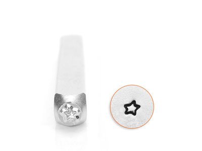 Impressart Fun Star Design Stamp   3mm