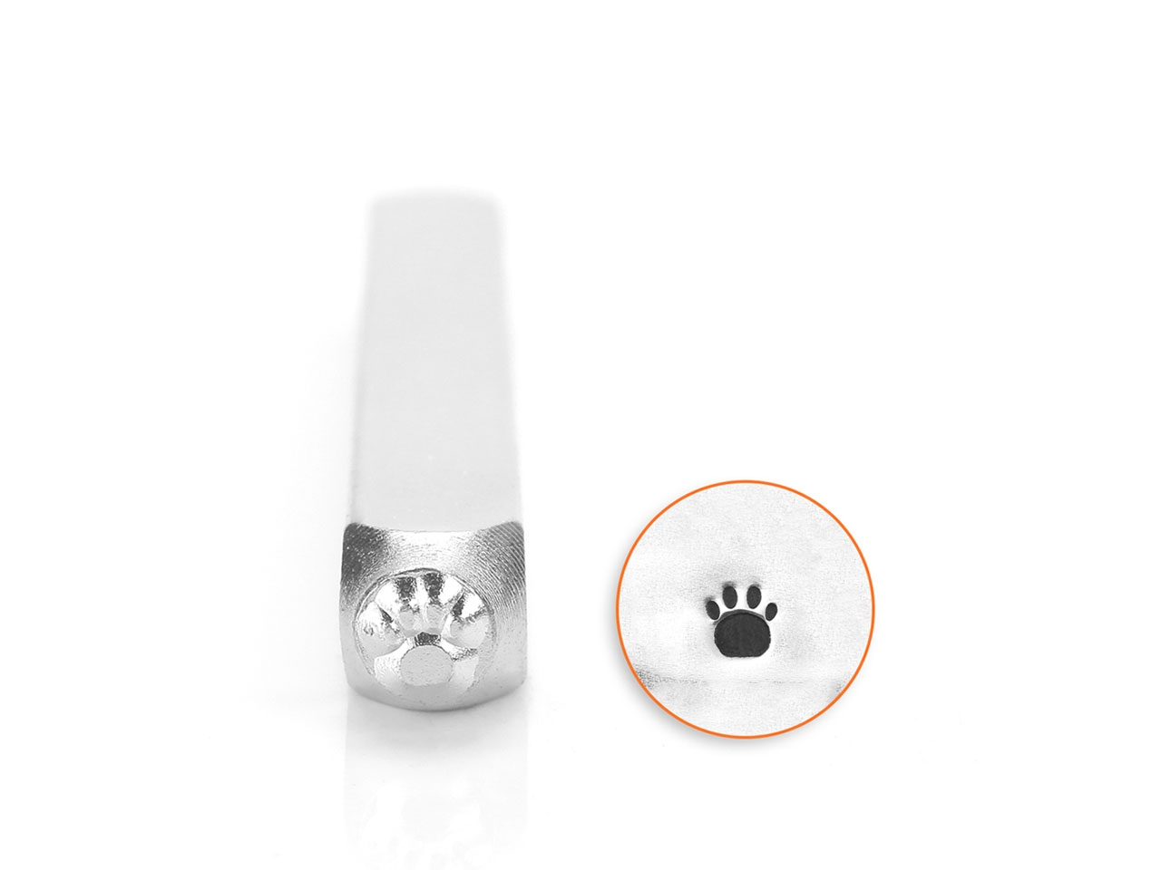 Impressart Small Paw Print Design  Stamp 3mm