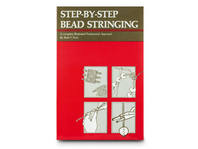 Step By Step Bead Stringing By Ruth F Poris
