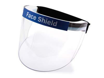 Full Face Covering Protective Visor Shield