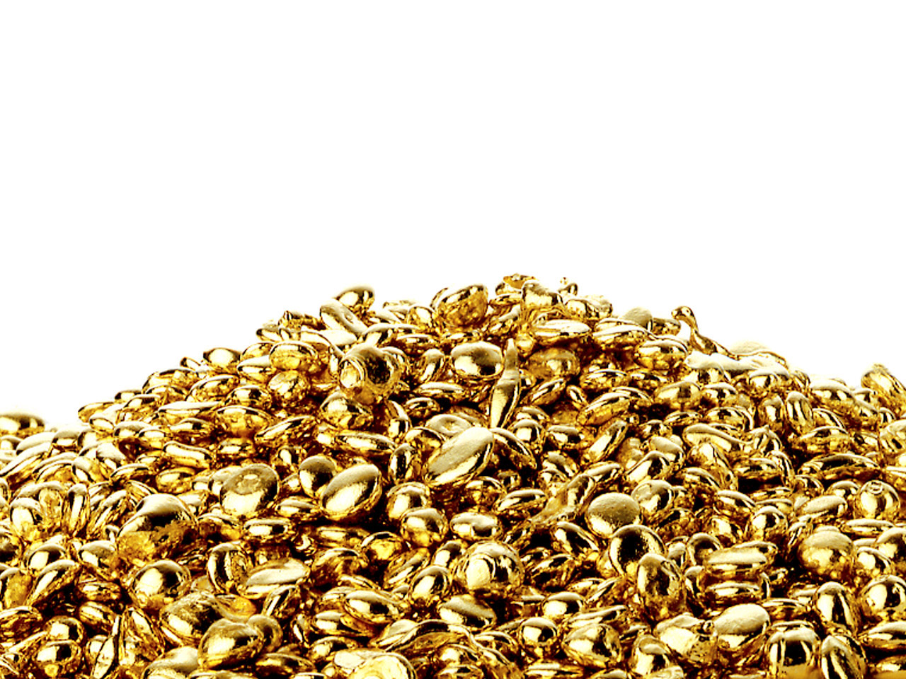 10ct Ay Yellow Grain, 100% Recycled Gold