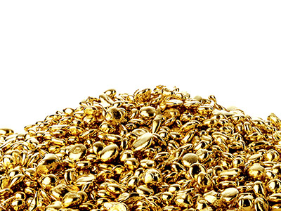 14ct Ay Yellow Grain, 100 Recycled Gold