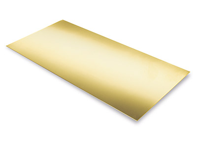 9ct Yellow DF Sheet 0.60mm
