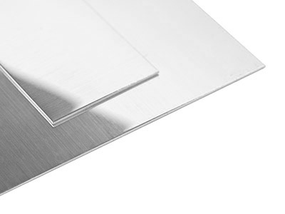 9ct Spw White Gold Sheet 1.65mm