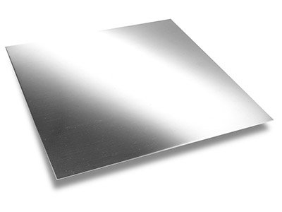 9ct Medium White Sheet 0.70mm Fully Annealed, 100 Recycled Gold