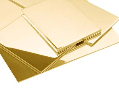 18ct Yellow HB Fairtrade Gold Sheet 2.00mm